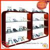 Wooden Shoe Display Stand Retail Custom Shoe Rack