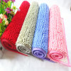 High Quality Home Textile Anti Slip Chenille Material Bath Mats