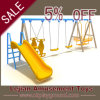 CE Multiplayer Outdoor Kid Plastic Baby Swing Slide (QQ1501-1)
