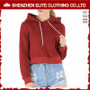 Bright Colored Cheap Blank High Quality Smart Hoodie Burgundy (ELTCHI-14)
