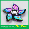 Fs055 Hongkong Flower Rainbow Zinc Alloy Fidget Spinner with Ce