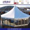 Polygon Tent with Glass Walls