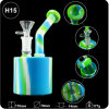 Good Quality Unbreakable Herb Smoking Water Pipe Silicone DAB Rig for Wholesale