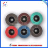 "T27 2"" Plastic Back Flap Disc for Stainless Steel Quick Installation"