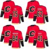 Calgary Flames Mike Smith Spencer Foo Austin Carroll Hockey Jerseys