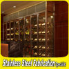 New Customed Design Stainless Steel Modern Wine Rack