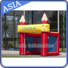 Popular Cute Inflatable Booth, Inflatable Advertising Tent with Printing