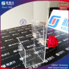 Clear Acrylic Donation Box with Card Holder