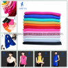 Colorful Satin Cotton Silk Scarf for Lady Woman