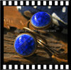 Jewelry Wholesale New Single Stone Ring Designs Blue Ceramic Diamond