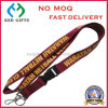 Custom Screen Printed Polyester Woven Lanyard