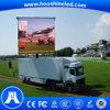 Video Display Function P8 LED Outdoor Slim Car