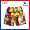 Healong Quick Dry Sports Gear Dye Sublimation Men′s Beach Shorts