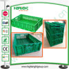 Stackable Plastic Vegetable and Fruit Vented Bins Storage Crate