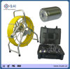 8 Inch LCD Monitor 300m Fiberglass Cable CCTV Security Underwater Well Pipe Inspection Camera with DVR & Keyboard & Meter Counter