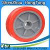 Polyurethane Caster Single Wheel with PP Spoke