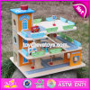 New Products Children Funny Wooden Parking Garage Toy W04b049