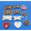 Enamel Metal Dog Tag, Pet Tag Custom Design Epoxy (BOKQ-PT-001)