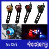 Aluminium Alloy Safety LED Bike Bicycle Front Rear Light