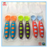 2 PCS/Set Colorful Safe Disposable Plastic Baby Spoon Fork