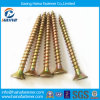 Galvanized Yellow Color Zinc Chipboard Screw