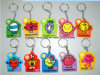 Colorful and Cheap Rubber Key Chain