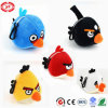 Birds Plush Stuffed Quality Kids Toy Keychain with Black Hooker