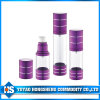Purple 33mm Airless Spray Bottle with Lotion Pump
