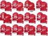 Detroit Red Wings Fanatics Branded Red Home Breakaway Custom Hockey Jerseys