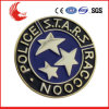 Round Shaped Carving Logo Cheap Tin Badge