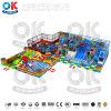 Rainbow Net Trampoline Big Slide Indoor Playground