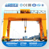 China Lifting Equipment Double Beam Gantry Crane