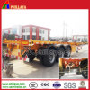 Skeleton Container Semi Trailer Chassis with Small Gooseneck