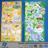 Full Color Self Adhesive Water Resistant Glossy Clear Printing Aminal Stickers
