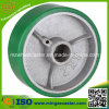 Industrial Ball Bearing Polyurethane Cast Iron Wheel