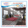 1050mm PVC and ASA / PMMA Glazed Tiles Roof Sheet Extrusion Line