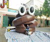 New Design Giant Emoji Inflatable Poop Bouncer for Sale