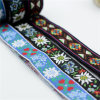 100% Embroidery Jacquard Woven Ribbon Webbing for Garment Accessory