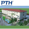 China Low Cost Prefabricated Steel Structure Apartment, Permanent Building