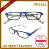 Fr3363 New Spectacles Design Plastic Shinny Brown Frames