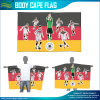 Cape Flags and Body Flags, Polyester Poncho with Waterproof