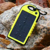 5000mAh Mobile Phone Charger, Solar Battery Charger Ith Water Proof
