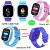 Acurate GPS Tracker Smart Watch Phone with Remote Camera D15W