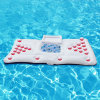 170cm 67inch 28 Cup Hole Inflatable Beer Pong Table Pool Float New Summer Water Party Fun Air Mattress Ice Bucket Hot