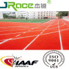 Sandwich Synthetic Rubber Running Track Spray SBR/EPDM Granules Run Way Track
