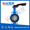 Cast Iron Install on Pipeline Directly Wafer Butterfly Valves