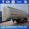 Fuel Transportation Used Tanker Trailer Type Oil Tank for Sale
