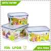 3PCS in a Set Fresh Keeping Crisper Refrigeration Storage Box Food Storage Container PP Storage BPA -Free
