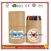 24PCS Crayon in Paper Tube for Stationery Gift