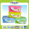 Wet Tissues, Plastic Container Wet Wipes, Box Wipes (BW-014)